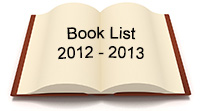 Book List for 2012 - 2013